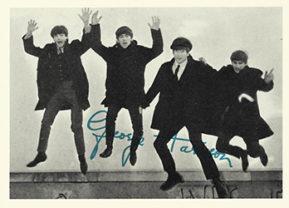 Beatles bubblegum card