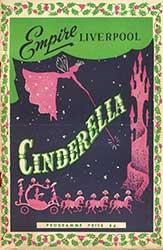 Cinderella panto programme