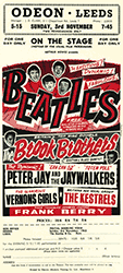 Beatles at the Odeon handbill