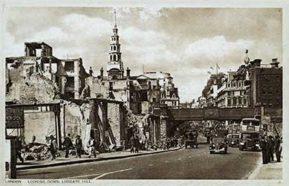 Blitz postcards