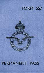 RAF pass card