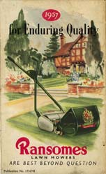 Ransomes 1957 Brochure