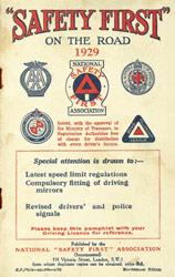 Safety First leaflet