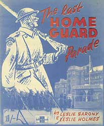 The last Home Guard parade leaflet