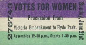 Ticket for Hyde Park Procession