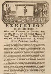 Execution of Courvoisier flyer