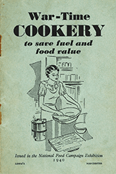 War time cookery booklet