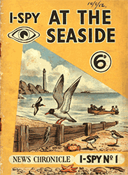 i-Spy at the Seaside booklet