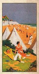 Seaside Cigarette card - Mablethorpe