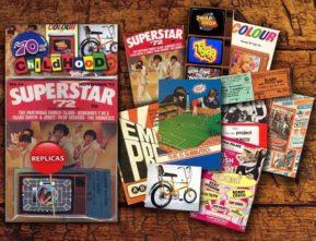 1970s memorabilia pack