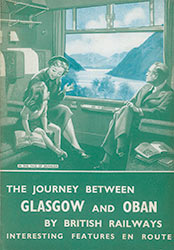 Oban to Glasgow poster