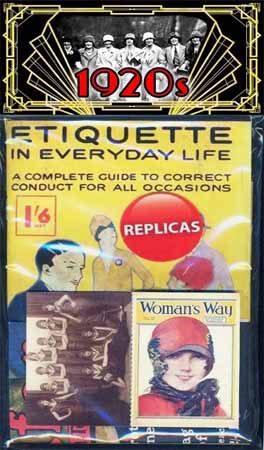 1920s memorabilia pack