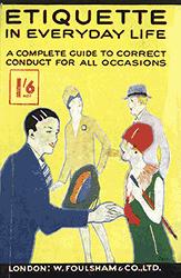 1920s Etiquette Booklet