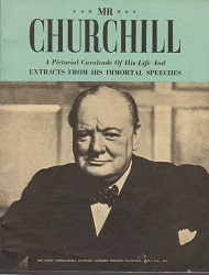 Life oLife Churchill pictorial booklet