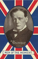 Churchill card